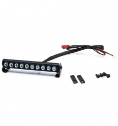 Rampe de 10 LEDs usinées en aluminium de 89mm