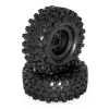 Roues completes noires crawler « CLIMBER »121/45 (1 paire)