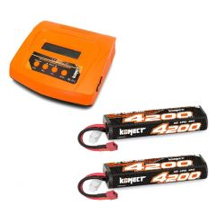 Pack Multi80RS + 2 Lipo 2s 4200 mAh