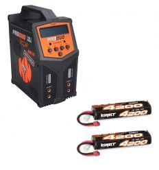 Pack Produo + 2 x Lipo 2s 4200 mAh