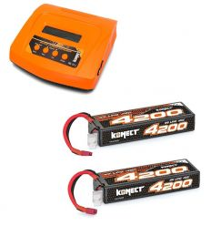 Pack Multi80RS + 2 x Lipo 3s 4200 mAh