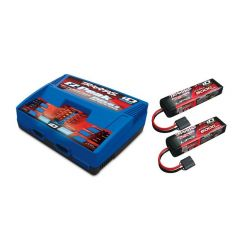 Pack Chargeur 2972G + 2 x Lipo 3S 5000MAH 2872X Traxxas ID