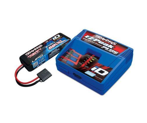 Pack Chargeur 2970G + Lipo 2S 5800MAH 2843X Traxxas ID