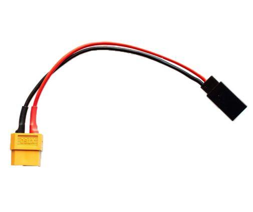 Cable de charge XT60 vers Futaba