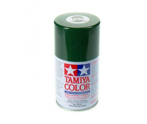 Peinture en bombe Tamiya de 100ml - PS9 Vert