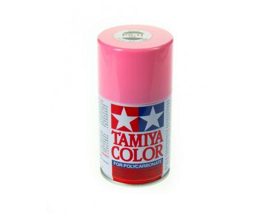 Peinture en bombe Tamiya de 100ml - PS11 Rose
