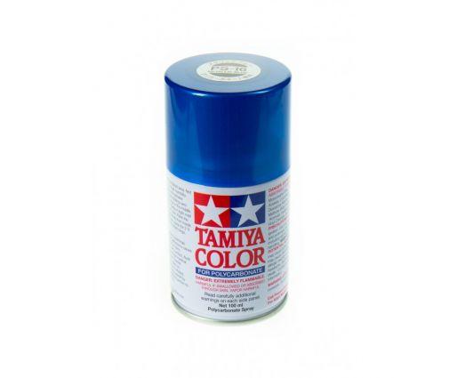 Peinture en bombe Tamiya de 100ml - PS16 Bleu Métallisé
