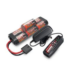 Pack Chargeur Batterie Traxxas NI-MH 8,4V 3000 MAH court - iD