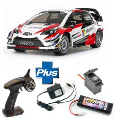 Kit Combo Tamiya Toyota Yaris Gazoo Racing