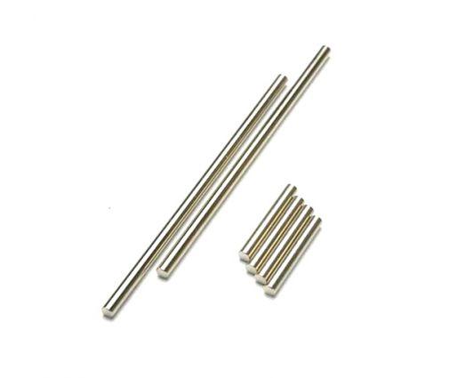 Axes de triangles avant ou arrière aciers 3X25mm (4) / 3X85mm (2) ( TRX5321 )