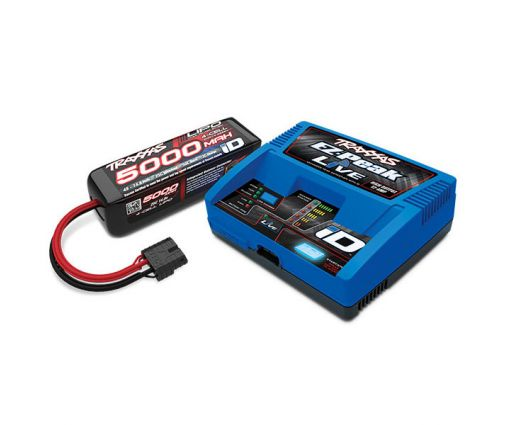 Pack Chargeur 2971G +  Lipo 4S 5000MAH 2889X Traxxas ID