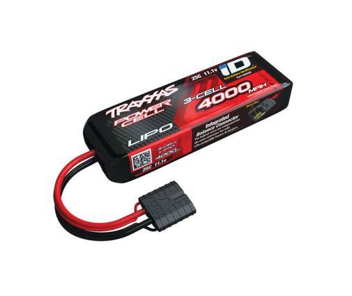 Batterie Traxxas Lipo 11.1v ( 3s ) 4000 mAh 25C - ID
