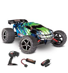 Traxxas E-Revo - 4x4 - 1/16 Brushed 2.4GHZ Noir
