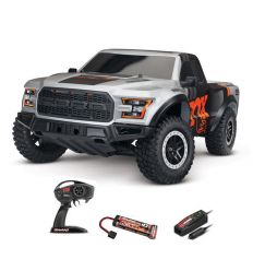 Traxxas Ford Raptor F-150 FOX - 4x2 - 1/10 BRUSHED TQ 2.4GHZ - iD