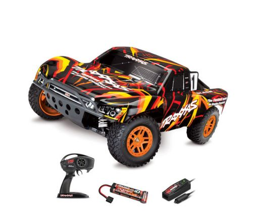 Traxxas Slash - 4x4 - 1/10 Brushed TQ 2.4GHZ - iD