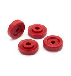 Rondelles de roues Rouges (X4) ( TRX8957R )