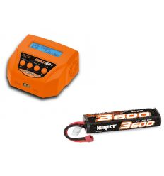 Pack Multi60plus + Lipo 2s 3600 mAh